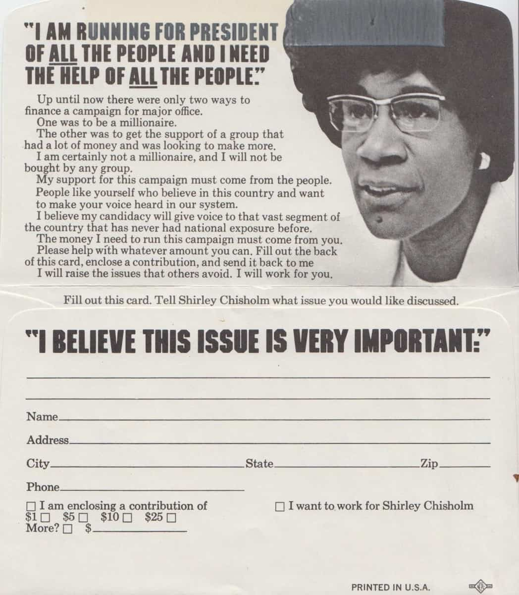 Shirley Chisholm Essay
