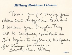 hrc note