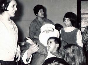 LULAC holiday party santa