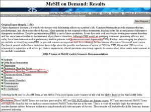 mesh on demand results