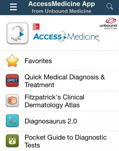 AccessMedicine Screenshot