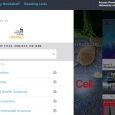 BrowZine is a library-subscribed resource that makes it easier to read your favorite scholarly journal articles. Almost all the scholarly journals subscribed by the Libraries are available in BrowZine.  Think […]