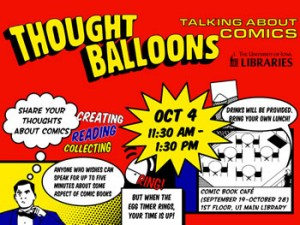Thought Balloons: Talking about Comics