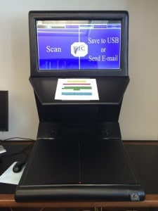 New Sciences Library scanner