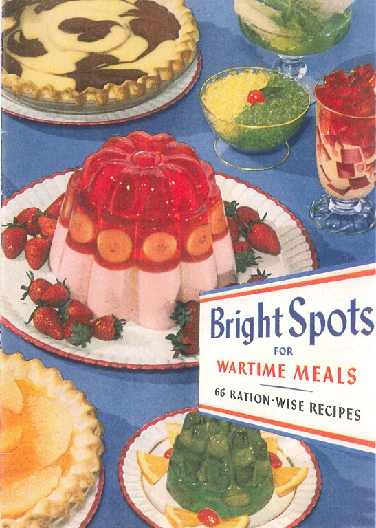 Wartime jello recipe pamphlet, 1944