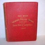 Women's Relief Corp book, 1897