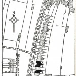 A map from Tatchell&#039;s book showing the location of Hunt&#039;s house.