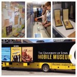 Image of the mobile museum and the world war 2 exhibit