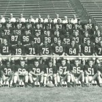1960 U I Football Team Photo