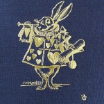 Book cover with white rabbit