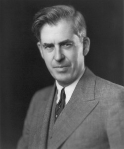 Black and White Image of Henry Wallace