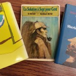 Sherlock books donated by Nicholas Meyer