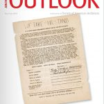 Cover of Archival Outlook