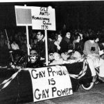 LGBT float in a parade