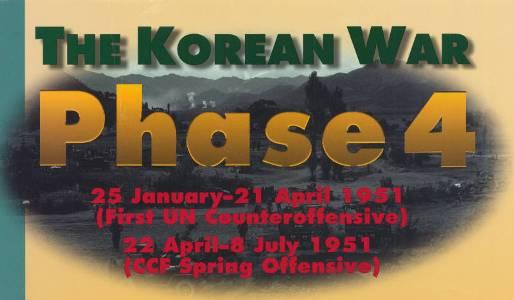 Korean War Phase 4 poster