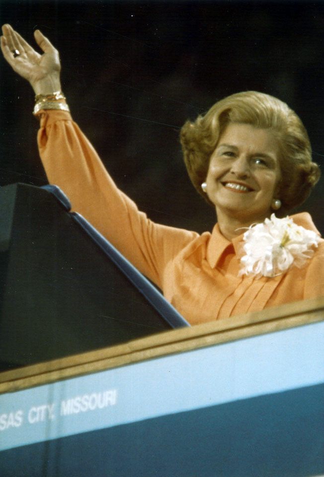 Betty Ford at the National Republican Convention, Kansas City, 1976 | Iowa Women's Archives Founders