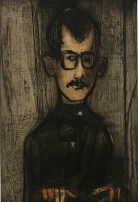 Self-portrait by Mauricio Lasansky (1948) | University of Iowa Museum of Art