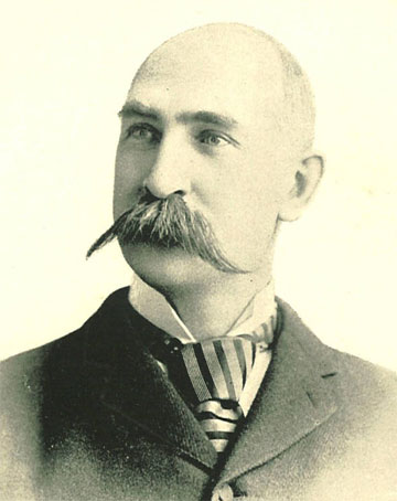 UI President Charles A. Schaeffer, 1893  |  University of Iowa Yearbooks