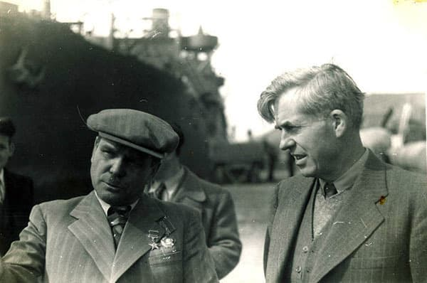 Henry Wallace at Magadan, Siberia, 1944