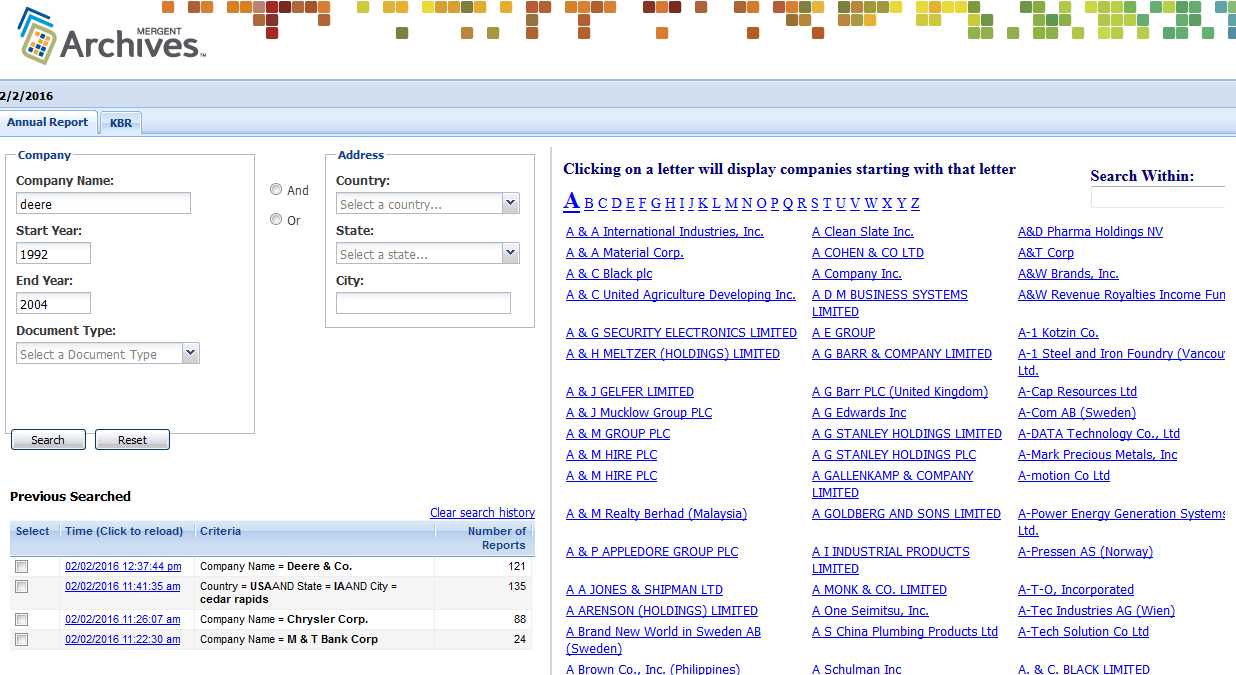 Database of the week – Business Library News