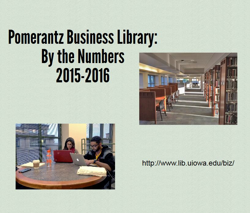 Business Library FY 2016 Inforgraphic
