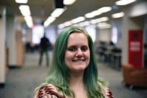 UI Libraries student scholarship recipient Natalie Boucher