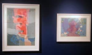 2 more Corita Kent works on loan from the Josephine Pletscher Papers housed at the Iowa Women's Archive