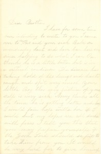 Joseph Culver Letter, October 23, 1863, Letter 2, Page 1