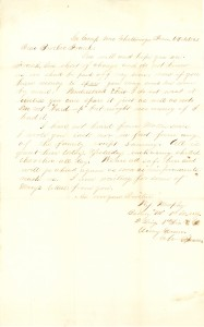Joseph Culver Letter, October 6, 1863, Letter 2, Page 1