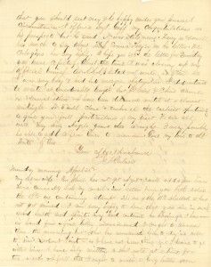 Joseph Culver Letter, April 24, 1864, Letter 2, Page 2