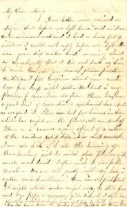 Joseph Culver Letter, August 20, 1864, Letter 2, Page 1