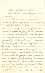Joseph Culver Letter, June 14, 1864, Page 1