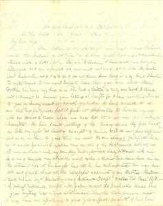 Joseph Culver Letter, June 7, 1864, Page 1