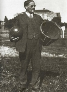 Dr. James Naismith, the inventor of basketball.