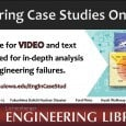 <!-- AddThis Sharing Buttons above -->The Lichtenberger Engineering Library has a new database for streaming videos!  This database is called Engineering Case Studies Online (http://purl.lib.uiowa.edu/EnginCaseStud) Engineering Case Studies Online is a multi-media database chronicling […]<!-- AddThis Sharing Buttons below -->
