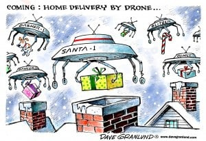 Drone home delivery