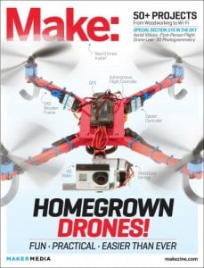 Source: Make: Technology on Your Time Volume 37: Drones Take Off!