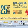 <!-- AddThis Sharing Buttons above --> On July 26, 1990, the Americans with Disabilities Act (ADA) was signed into law. Iowa's former senator, Tom Harkin, wrote the bill and Iowa City has held a celebration […]<!-- AddThis Sharing Buttons below -->