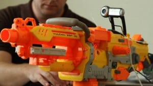Autonomous NERF Blaster created by Bryce Bigger