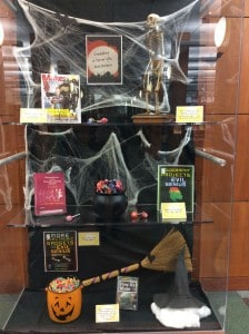 Engineering Library Halloween Exhibit