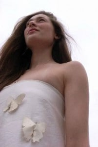 Butterfly Dress designed by Alexander Reeder