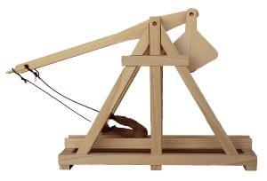 A trebuchet