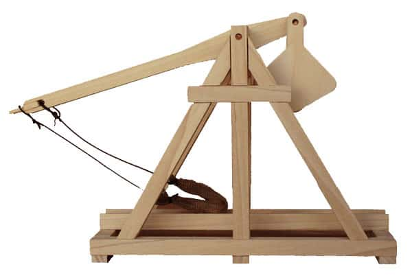 Quick-n-dirty trebuchet: 9 steps (with pictures).