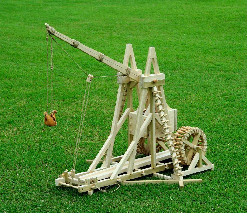Trebuchet. Photo credit: Stirling Warsolf