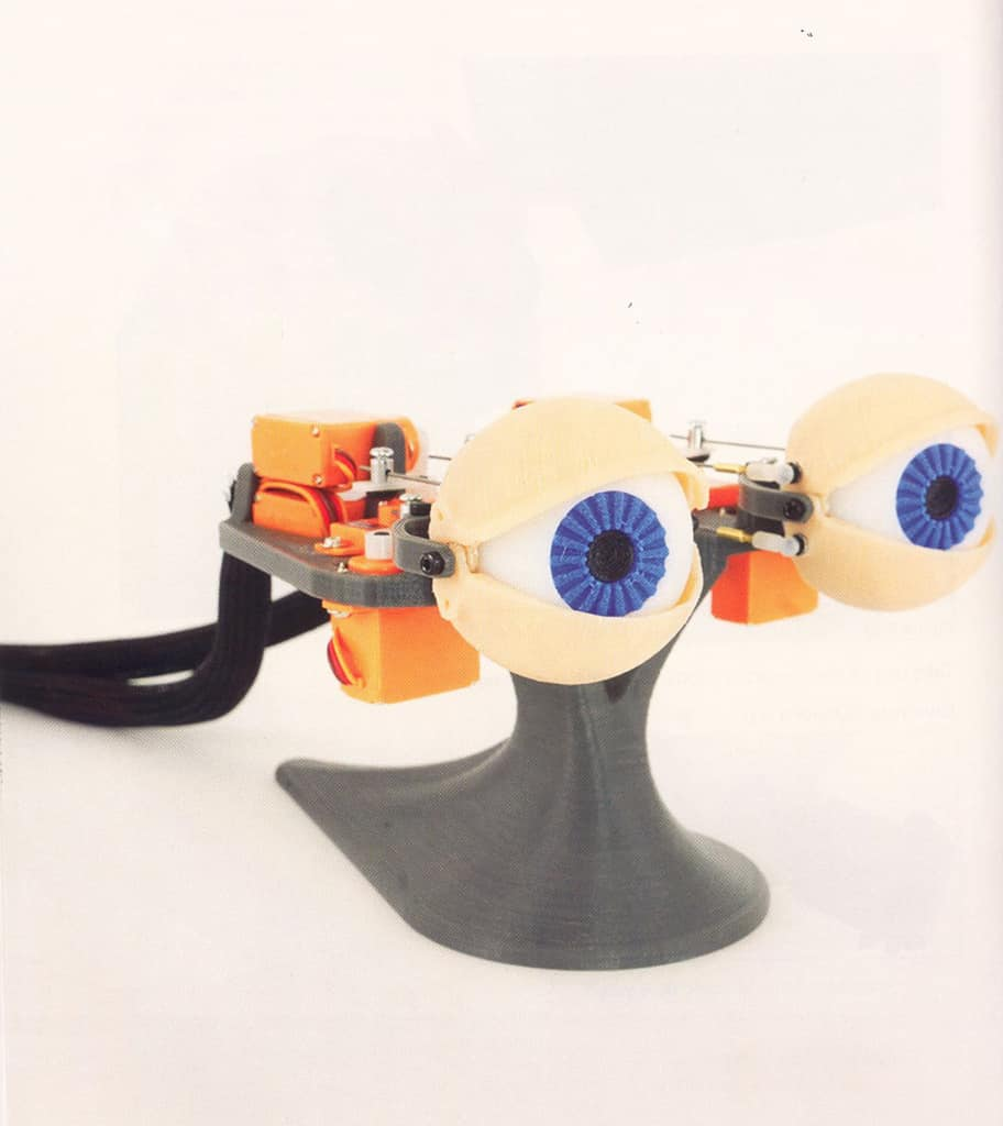 Animotronic Eyes. Make: 3D Printing Projects.