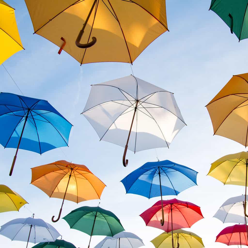 April Showers Bring Umbrellas – New Exhibit