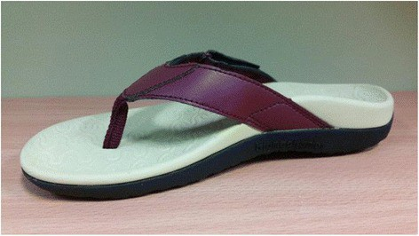 eb111294a Test Footwear  Foot Bio-Tec Orthotic Footwear. Image from PubMed abstract.