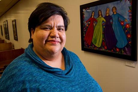 Portrait of Rachel Garza Carreón.