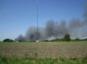 picture of smoke from fire