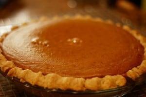 picture of pumpkin pie